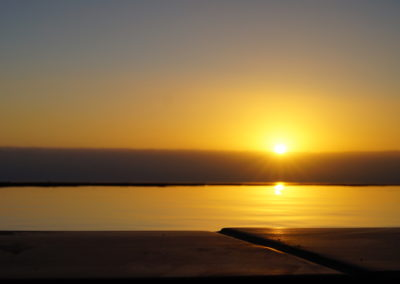 0001 Pool Sonnenuntergang Nah